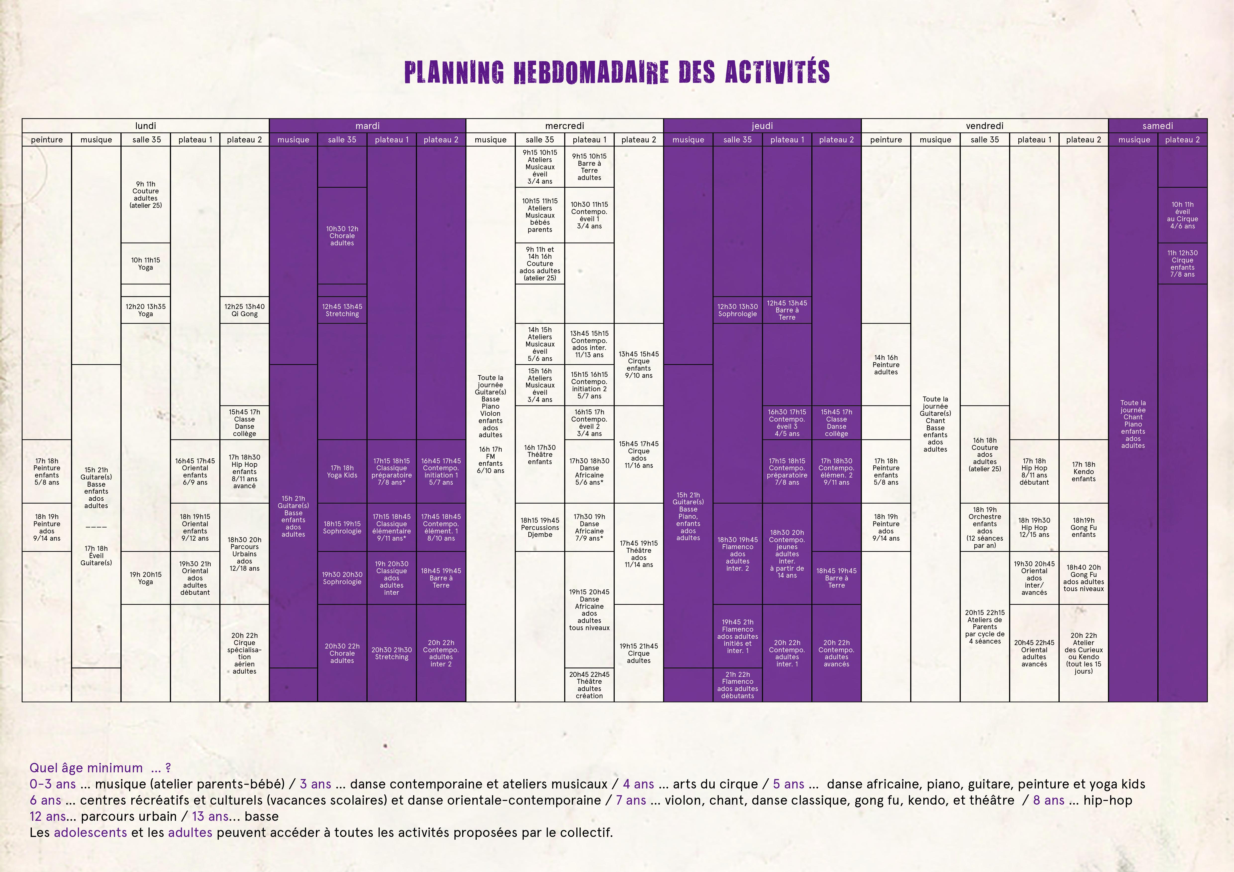 planning 2014/2015