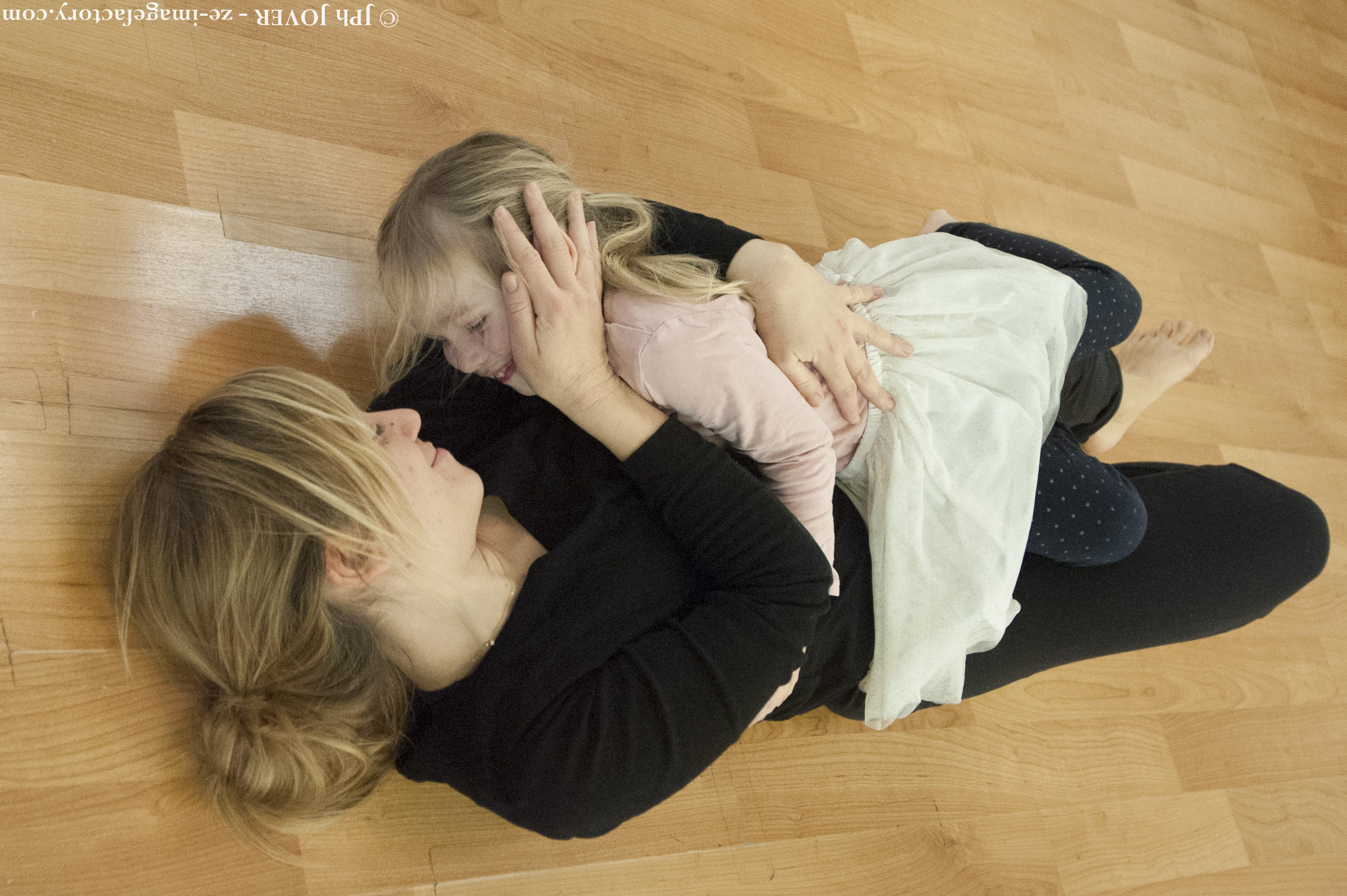 Instant parents-enfants / yoga