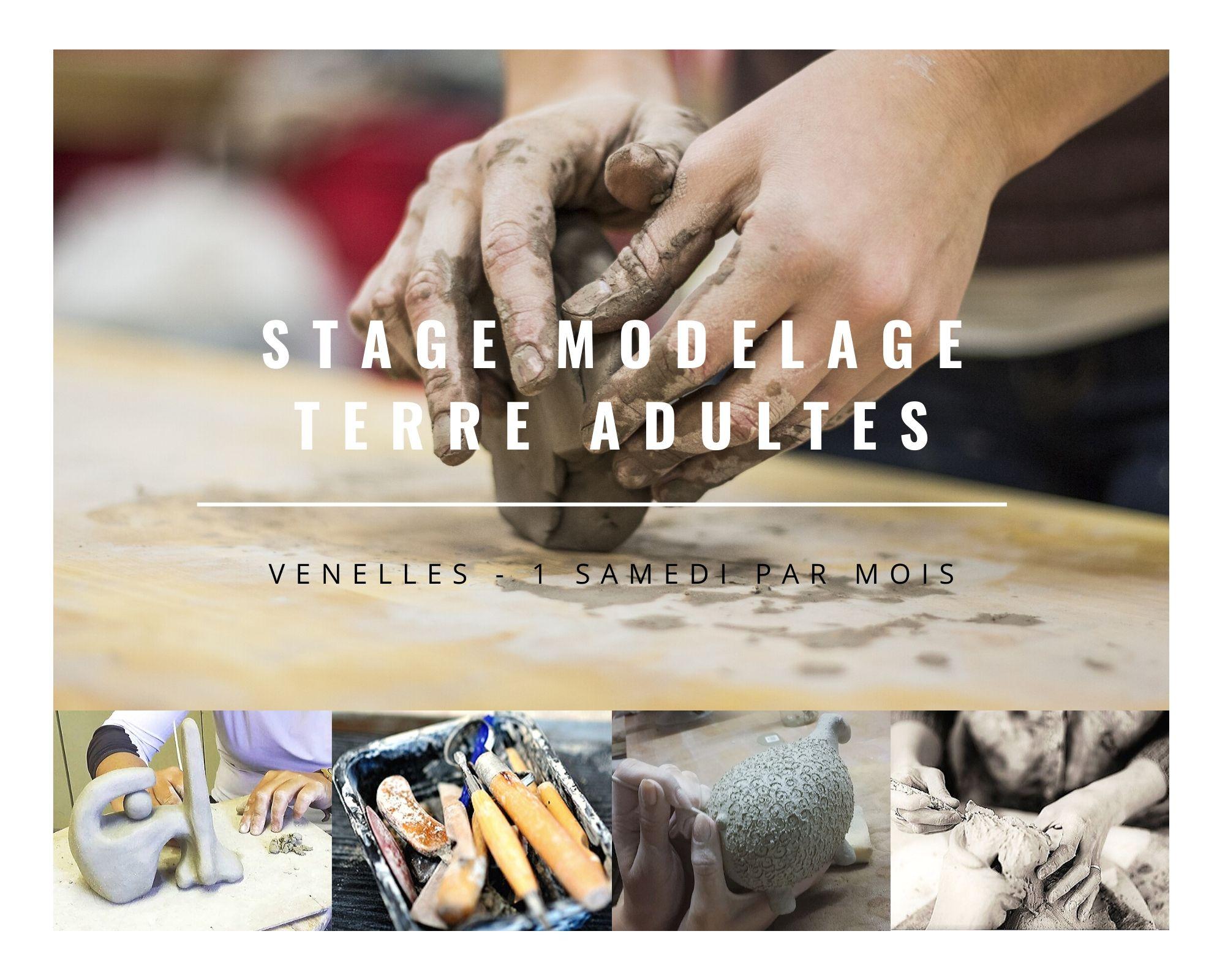 Modelage terre @ L'Entrepôt Espace Chorégraphique et Culturel